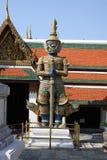 Beschermers bij het Grote Paleis, Bangkok Stock Foto