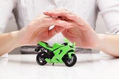 Bescherming van fiets (concept) Royalty-vrije Stock Afbeeldingen