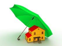 Bescherming van uw huis stock illustratie