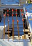 Beschermingskappen voor betonstalen Royalty-vrije Stock Fotografie