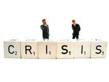 Beschäftigen eine Krise Lizenzfreies Stockfoto