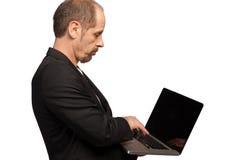 Beschäftigter Manager Stockfoto