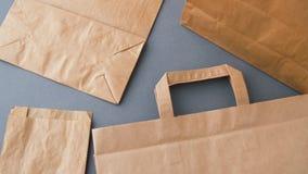 Beschikbare document zakken stock videobeelden