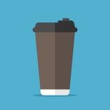 Beschikbare koffiekop Stock Fotografie