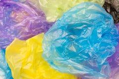 Beschikbare plastic zakken Royalty-vrije Stock Afbeeldingen