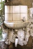 Beschimmeld gebroken bassin Royalty-vrije Stock Foto