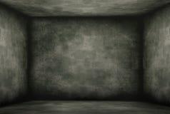 Beschimmelde oude donkere kamer royalty-vrije illustratie