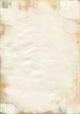 Beschimmelde oude watercolourdocument textuur Royalty-vrije Stock Afbeeldingen