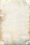 Beschimmelde oude watercolourdocument textuur Stock Fotografie