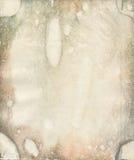 Beschimmelde oude watercolourdocument textuur Stock Afbeeldingen