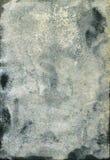 Beschimmelde oude watercolourdocument textuur Royalty-vrije Stock Foto's