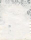Beschimmelde oude waterverfdocument textuur Royalty-vrije Stock Afbeeldingen