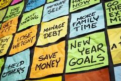 Beschlüsse des neuen Jahres Lizenzfreie Stockfotos