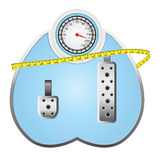 Beschleunigen Sie Gewichtsverlust Stockbilder