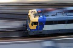 Beschleunigenlokomotive Stockbilder