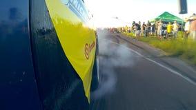 Beschleunigungsrennen Burnout stock video