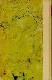 Beschmutzte Abdeckung des alten Buches (1) stockfotos