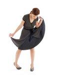 Beschmutztes Kleid Stockfoto