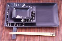 besegrar japanska orientaliska setsushi Royaltyfri Bild