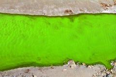 Beseitigung von Giftmüll, Verschmutzung der Umwelt mit Abfall Lizenzfreie Stockfotos
