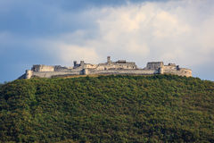 Besenello slott i Trentino Arkivfoto