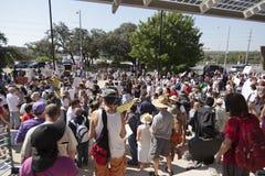 Besetzen Sie Austin - 15. Oktober-Demonstrationszug Stockfotos