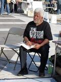 Besetzen Sie Gleichstrom-Protestierender Lizenzfreies Stockbild