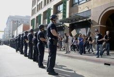 Besetzen Sie LA-Protestierendermarsch Stockbild