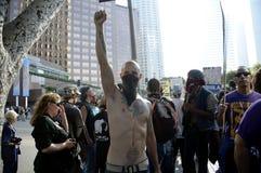 Besetzen Sie LA-Protestierendermarsch Lizenzfreie Stockfotos