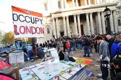 Besetzen Sie London Stockbild