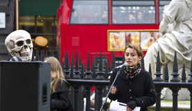 Besetzen Sie London-Börse Lizenzfreies Stockbild