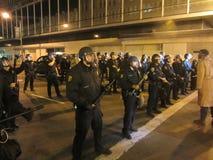 Besetzen Sie Oakland-Protest Lizenzfreie Stockfotos