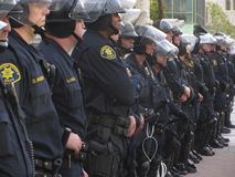 Besetzen Sie Oakland-Protest Lizenzfreies Stockbild