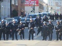 Besetzen Sie Oakland-Protest Stockbild