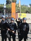Besetzen Sie Oakland-Protest Stockfotos