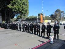 Besetzen Sie Oakland-Protest Lizenzfreies Stockfoto