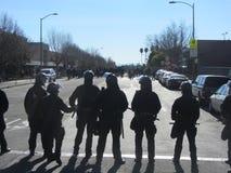 Besetzen Sie Oakland-Protest Stockfoto