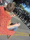 Besetzen Sie Oakland-Protest Lizenzfreie Stockbilder