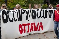 Besetzen Sie Ottawa Lizenzfreie Stockfotos