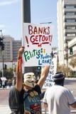 Besetzen Sie Street-LA Protest in Los Angeles Stockbild