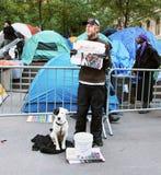 Besetzen Sie Street-Protest Lizenzfreie Stockbilder