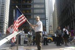 Besetzen Sie Wall Street. Stockbild