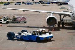 Besetzter Flughafen. stockfoto
