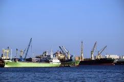 Besetzter Kanal in Taiwan stockfotos