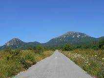 Beshtau. The beautiful landscape of the mountain Beshtau Royalty Free Stock Photo