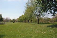 Besichtigen des Parks Stockbild