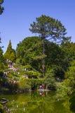 Besichtigen Sie die Gärten von Serralves-Haus stockfotografie