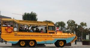 Besichtigenbus in Liverpool stockfoto