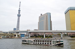 Besichtigung in Asakusa Lizenzfreie Stockbilder