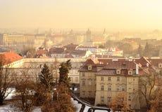 Besichtigung in Prag Stockbild